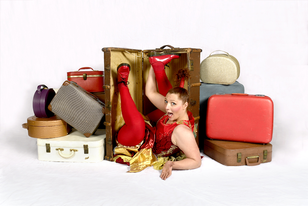 Hazel's Circus Suitcase